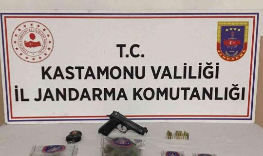 Jandarmanın uyuşturucu operasyonunda 1 kişi yakalandı