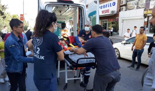 Otomobilin çarptığı öğrenci ağır yaralandı