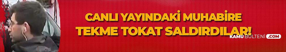 Konya'da Çöken Bina Haberini Aktaran Muhabire Canlı Yayında Çirkin Saldırı!