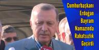 Cumhurbaşkanı Erdoğan Bayram Namazı esnasında rahatsızlık geçirdi