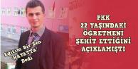 PKK'nın kaçırdığı  öğretmen hakkında Eğitim Bir Sen'den açıklama