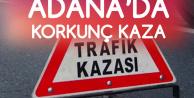 Adana'da Korkunç Kaza! 3 Kişi Öldü, 6 Kişi Yaralandı
