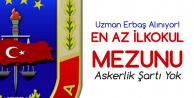 En Az İlkokul Mezunu Jandarma Uzman Erbaş Alınıyor! (Başvuru Sayfası ve Detaylar)
