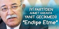 İsmail Koncuk'tan Ahmet Hakan'a Yanıt : Hiç Endişe Etmesin