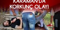 Karaman'da Dehşet! Dövmesi Var Diye Saldırdılar