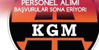 KGM 662 Sözleşmeli Personel Alacak! Başvurular Sona Eriyor