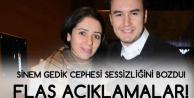 Mustafa Ceceli'nin Eski Eşi Sinem Gedik'ten Açıklama