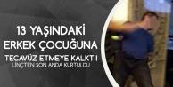 Osmaniye'de Çocuğa Tecavüze Kalkışan Şahıs Meydan Dayağından Sonra Polise Verildi