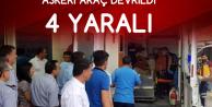 Siirt'te Askeri Araç Devrildi: 4 Asker Yaralandı