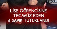 Tekirdağ'da Lise Öğrencisine Tecavüz Ettiği Öne Sürülen 6 Kişi Tutuklandı