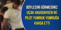 Uçak Seyir Halindeyken İki Pilot Yumruk Yumruğa Kavga Etti