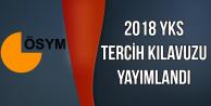 2018 YKS Tercih Kılavuzu Yayımlandı