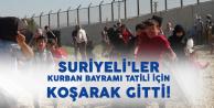 25 Bin Suriyeli Bayram Tatili için Ülkelerine Gitti