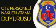 Adalet Bakanlığı CTE Personeli Naklen Atama Duyurusu Yayımlandı