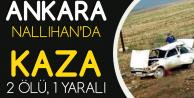 Ankara'da Otomobil Takla Attı: 2 Kişi Hayatını Kaybetti, 1 Kişi Yaralandı
