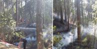 Ankara Kızılcahamam'da Orman Yangını!