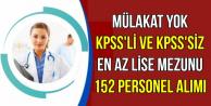 Atatürk Üniversitesine 152 Personel Alınıyor