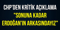 CHP'li İsimden Erdoğan'a Tam Destek