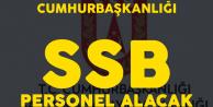 Cumhurbaşkanlığı SSB Personel Alımı Başvuru Tarihleri Netleşti
