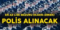En Az Lise Mezunu 2 Bin 500 Polis Alınacak! Başvurular Sona Eriyor