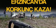 Erzincan'da Otomobil Şarampole Devrildi! 2 Ölü, 3 Yaralı