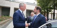 Hazine ve Maliye Bakanı Albayrak Fransız Mevkidaşı ile Görüştü