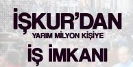 İŞKUR'dan Yarım Milyon Vatandaşa İş İmkanı