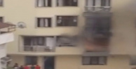 İstanbul Kağıthane'de Korku Dolu Anlar! Ev Küle Döndü