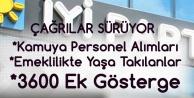 İYİ Parti'nin 'Mülakatın Kaldırılması, 3600 Ek Gösterge ve EYT Düzenlemesi' Çağrıları Sürüyor