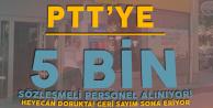 PTT 5 Bin Sözleşmeli Personel Alımı için Geri Sayım Sona Eriyor (Sınava Girecekler Dikkat!)