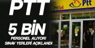 PTT 5 Bin Yeni Personel Alıyor! Sınav Giriş Belgeleri Yayımlandı
