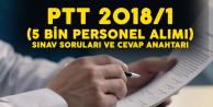 PTT A.Ş 5 Bin Sözleşmeli Personel Alımı Sınavı Soruları ve Cevap Anahtarları Yayımlandı