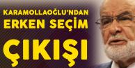 Saadet Partisi'nden Flaş Erken Seçim Açıklaması!