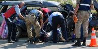 Tokat'ta Korkunç Kaza! 1 Ölü, 8 Yaralı
