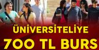 Üniversite Okuyanlara 12 Ay Boyunca 700 TL Verilecek