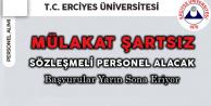 Üniversiteye Mülakatsız Sözleşmeli Personel Alınacak! Başvurular Sona Eriyor