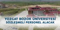 Yozgat Bozok Üniversitesi Sözleşmeli Personel Alacak