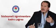 Ali Yalçın'dan MEB'e Sözleşmeli Öğretmene Kadro Çağrısı