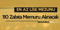 Ümraniye Belediyesi 110 Zabıta Memuru Alımı Yapacak