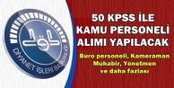 Diyanete 50 KPSS ile Kamu Personeli Alınacak