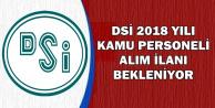 DSİ 2018 Personel Alımı Bekleniyor