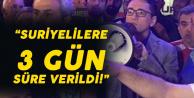 Elazığ Belediye Başkanı: Suriyelilere Gitmeleri için 3 Gün Verdik!