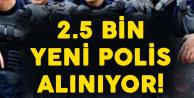 En Az Lise Mezunu 2 Bin 500 Polis Alınacak ! Sınav Yerleri Belli Oldu