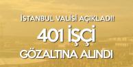 İstanbul Valiliğinden Yeni Havalimanı Açıklaması: 401 Kişi Gözaltına Alındı