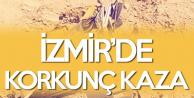 İzmir'de Hafriyat Kamyonu Devrildi! 1 Kişi Hayatını Kaybetti
