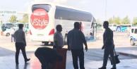 Manisa'da Otobüs Yolcuların Arasına Daldı! Yaralılar Var