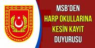 MSB'den Harp Okullarına Kesin Kayıt Duyurusu