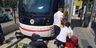 Samsun'da Korkunç Olay! Tramvayın Altında Ölüm-Kalım Savaşı