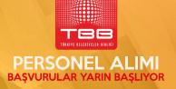 TBB Kadrolu İşçi Alacak (KPSS En Az 60 Puan)
