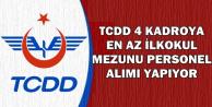 TCDD En Az İlkokul Mezunu Personel Alımı Yapıyor